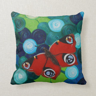 Peacock Butterfly Pillow Cushions
