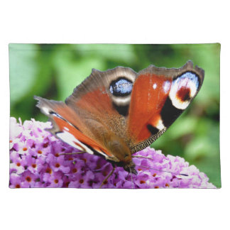 PEACOCK BUTTERFLY PLACEMATS