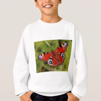PEACOCK BUTTERFLY SWEATSHIRT