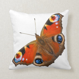 Peacock Butterfly Throw Pillow Cushions