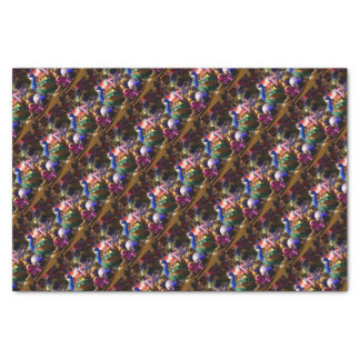 Peacock Christmas Design Tissue Paper