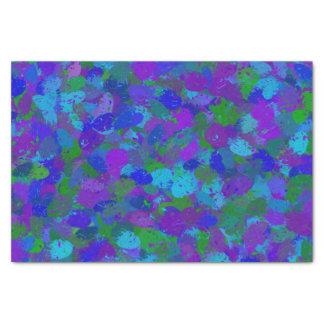 Peacock Color Splashes 4755 Tissue Paper