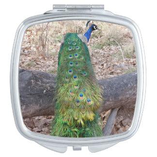 Peacock Compact Vanity Mirrors