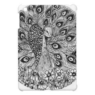 Peacock Cover For The iPad Mini