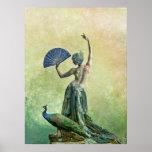 Peacock Dance Poster