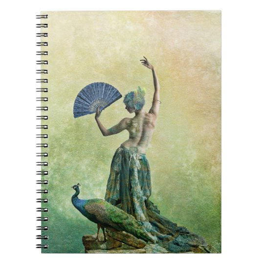 Peacock Dancer Note book