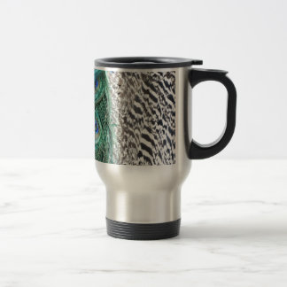 Peacock Delight Travel Mug