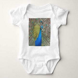 Peacock Design Baby Bodysuit