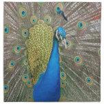 Peacock Design Napkin