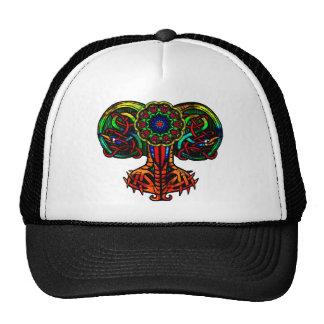 Peacock Display Cap Hat