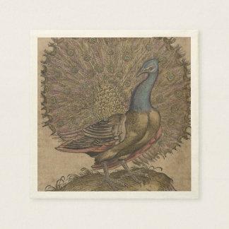 Peacock Disposable Serviette