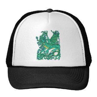 Peacock Dragon Cap