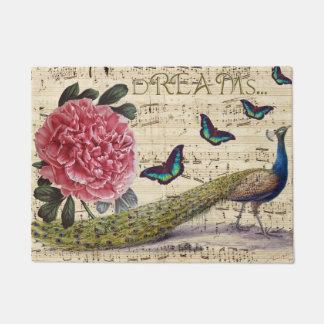 Peacock Dreams Doormat