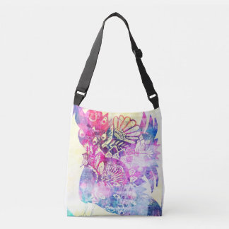 Peacock dreamz crossbody bag