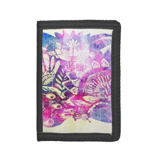 Peacock Dreamz Tri-fold Wallet