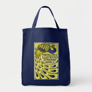 Peacock Edition, MacMillan's Illustraded Grocery Tote Bag