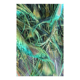 Peacock Exotic New Growth Stationery Design