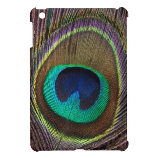 Peacock Eye Feather Cover For The iPad Mini
