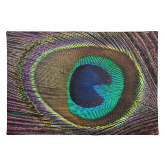 Peacock Eye Feather Placemat