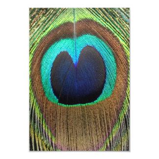 Peacock eye Invitaion Card 9 Cm X 13 Cm Invitation Card