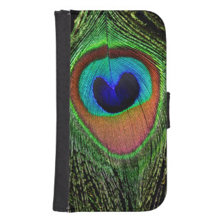 Peacock Eye Phone Wallet Case (all models)