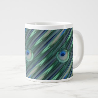 Peacock Eyes Jumbo Mug