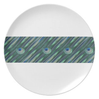 Peacock Eyes Plates