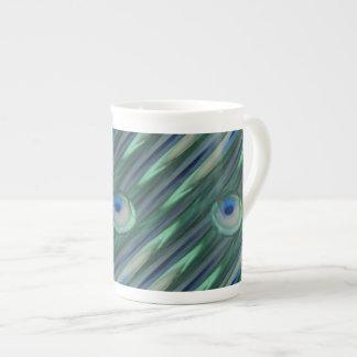 Peacock Eyes Tea Cup
