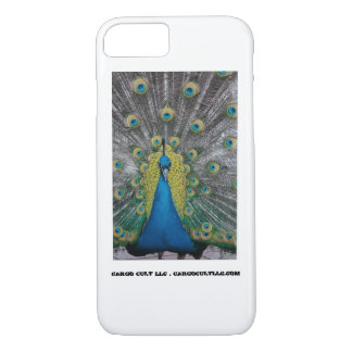 Peacock facing front iPhone 8/7 case