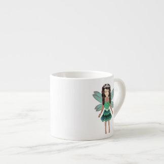 Peacock Fairy Princess Espresso Mug