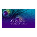 Peacock Fantasy Business Card Set 1111