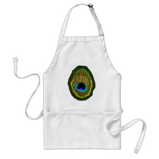 Peacock Feather Aprons