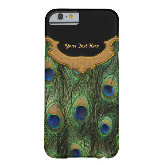 Peacock Feather - Barely There iPhone 6 Case