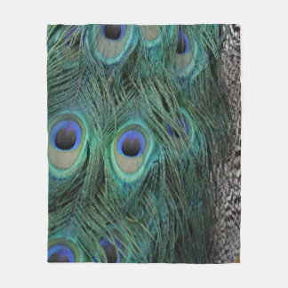 Peacock Feather Blanket
