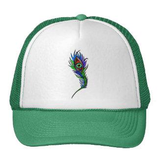 Peacock Feather Cap