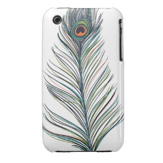 Peacock Feather iPhone 3 Covers