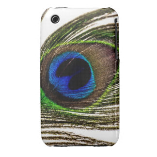 Peacock Feather iPhone 3 Case-Mate Case