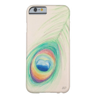 Peacock Feather Cell Phone Case