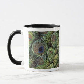 Peacock feather design 2 mug