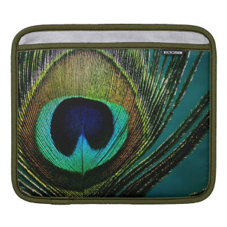 Peacock Feather Exotic Stylish Chic Photography Sleeves For iPads