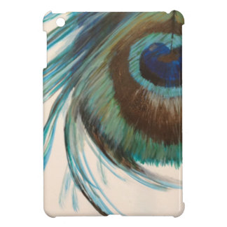 Peacock Feather iPad Mini Cover