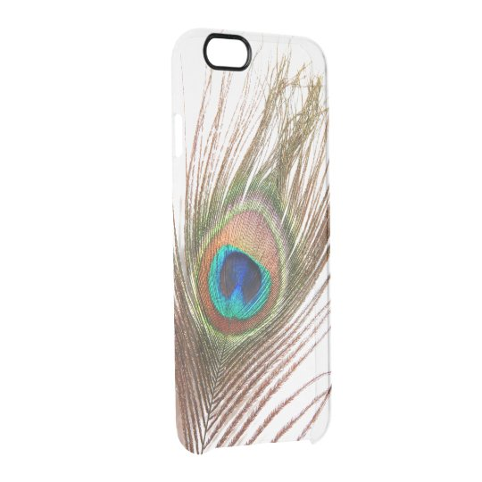 Peacock Feather iPhone 6 Clear Case