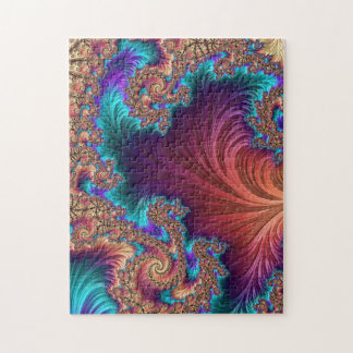Peacock Feather Jigsaw Puzzle