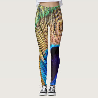 Peacock Feather Leggings