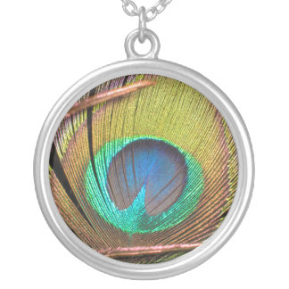 Peacock Feather Necklaces
