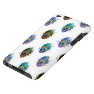 Peacock feather pattern barely there iPod case