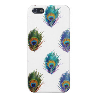 Peacock feather pattern iPhone 5 cases