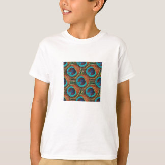 Peacock Feather Pattern T-Shirt