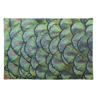 Peacock Feather Placemat
