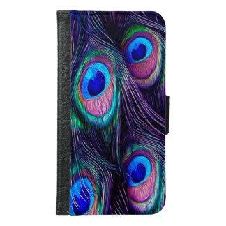 Peacock Feather Samsung Galaxy S6 Wallet Case